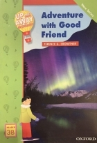 کتاب زبان Up and Away in English. Reader 3B: Adventure with Good Friend + CD