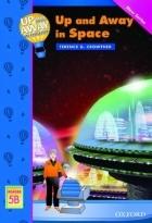 کتاب زبان  آپ اند اوی این انگلیش در فضا Up and Away in English. Reader 5B: Up and Away in Space + CD