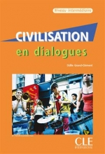 کتاب زبان Civilisation en dialogues - intermediaire + CD
