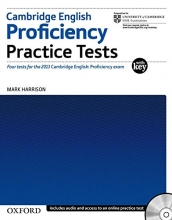 کتاب زبان Cambridge English: Proficiency (CPE): Practice Tests with Key