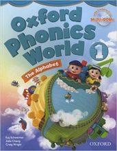 کتاب زبان Oxford Phonics World 1 SB+WB+CD