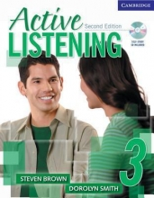 کتاب زبان Active Listening 3 Student Book with CD