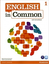 کتاب زبان English in Common (1) SB+WB+CD