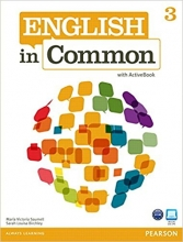 کتاب زبان English in Common (3) SB+WB+CD