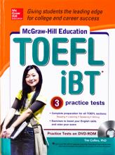کتاب زبان McGraw Hill Education TOEFL iBT+CD