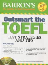 کتاب زبان Outsmart the TOEFL with CD