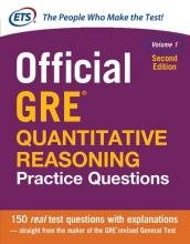 کتاب زبان Official GRE Quantitative Reasoning Practice Questions 2nd