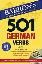 کتاب زبان 501 German Verbs