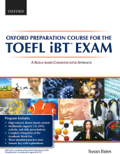 کتاب زبان Oxford Preparation Course for the TOEFL iBT Exam with DVD