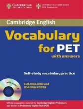 کتاب زبان Cambridge Vocabulary for PET
