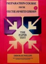 کتاب زبان Preparation Course For The Structure and Written Expression