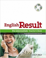 کتاب معلم English Result Pre-intermediate: Teacher's Book with DVD