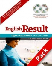 کتاب معلمEnglish Result Upper-intermediate: Teacher's Book with DVD