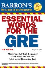 کتاب اسنشیال وردز فور د جی آر ای Essential Words for The GRE 4th Edition