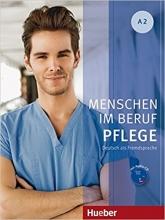 کتاب زبان Menschen Im Beruf Pflege: Kursbuch A2 + CD