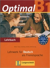 کتاب زبان Optimal B1 Lehrbuch + Arbeitsbuch