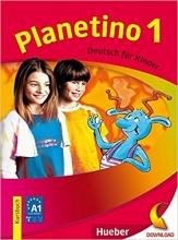 کتاب زبان Planetino 1 :Kursbuch + Arbeitsbuch MIT CD