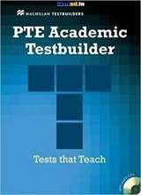 کتاب زبان PTE Academic Testbuilder: Student's Book + Audio CD