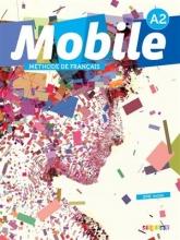 کتاب tفرانسه موبیل Mobile 2 niv.A2 + Cahier + DVD