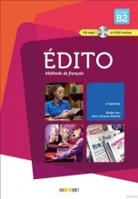 کتاب زبان Edito 4 niv.B2+ Cahier + CD mp3 + DVD