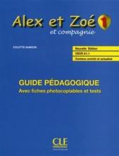 کتاب زبان Alex et Zoe - Niveau 1 - Guide pedagogique
