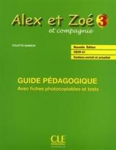 کتاب زبان Alex et Zoe - Niveau 3 - Guide pedagogique