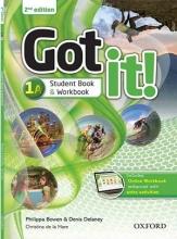 کتاب آموزشی گات ایت Got it! 1A (2nd)+DVD