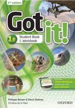 کتاب آموزشی گات ایت Got it! 1B (2nd)+DVD