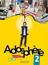 کتاب زبان Adosphere 2 + Cahier + CD Audio
