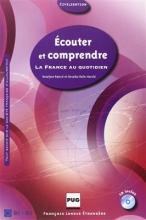 کتاب زبان ECOUTER ET COMPRENDRE La France au quotidien