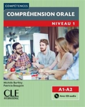 کتاب زبان Comprehension orale 1 - Niveau A1/A2 + CD - 2eme edition
