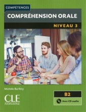 کتاب زبان Comprehension orale 3 - Niveau B2 + CD - 2eme edition