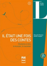 کتاب زبان IL ÉTAIT UNE FOIS DES CONTES (CD INCLUS) - A2-C1