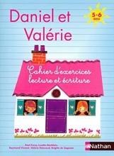 کتاب زبان Daniel et Valerie - Cahier d'exercices Lecture ecriture 5-6 ans