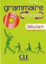 کتاب زبان Grammaire en action - Debutant + CD