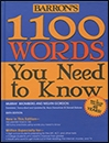 1100Words You Need to Know Barrons 6th edition دانشوري-بابايي