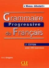 کتاب گرامر پروگرسیو فرانسه ویرایش دوم Grammaire Progressive Du Francais - debutant + CD - 2eme