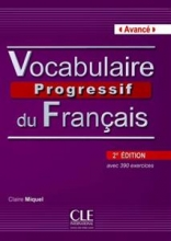 کتاب زبان Vocabulaire progressif - avance + CD - 2eme edition