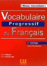 Vocabulaire progressif français - intermediaire + CD - 2em