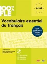 کتاب زبان Vocabulaire essentiel du français niv. A1 -A2 + CD 100% FLE