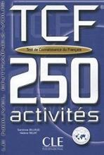 کتاب زبان Tcf-250 Activities Book + Key (French Edition)
