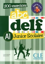 کتاب زبان ABC DELF Junior scolaire - Niveau A1+ DVD