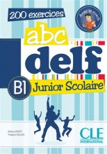 کتاب زبان ABC DELF Junior scolaire - Niveua B1 + DVD