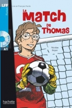 کتاب زبان (Le Match de Thomas + CD audio (A1