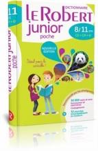 کتاب زبان Dictionnaire Le Robert Junior Poche 8-11 ans CE-CM, 6eme