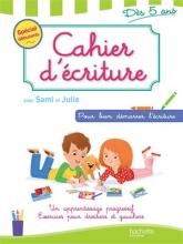 کتاب زبان Cahier d'ecriture avec sami et julie Des 5 ans