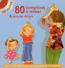 کتاب زبان comptines a mimer et jeux de doigts 80