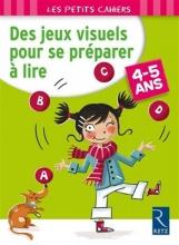 کتاب زبان Des jeux visuels pour se preparer a lire 4-5 ans