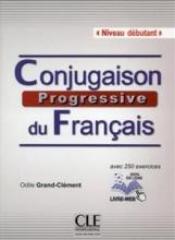 کتاب زبان رنگیConjugaison progressive du francais - Niveau debutant + CD