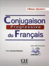 کتاب زبان Conjugaison progressive du francais - Niveau debutant + CD